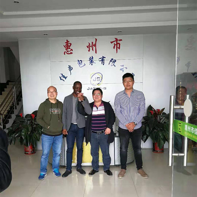 2019.3.16 Foreign customers visit and conduct product testing