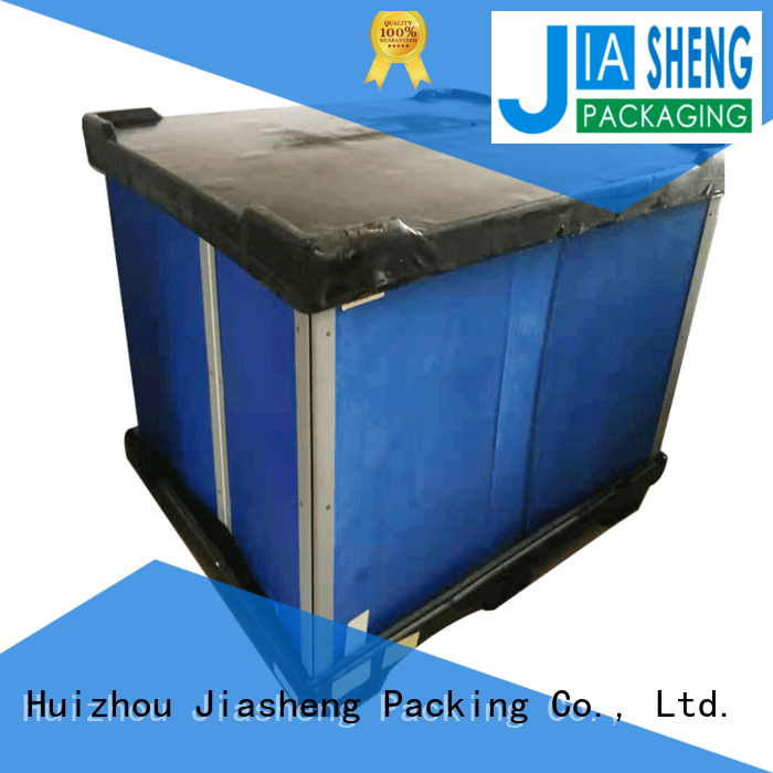 JIASHENG 5 star service wholesale plastic boxes for logistics