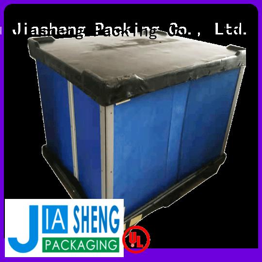 JIASHENG Jiasheng plastic packaging box for importer