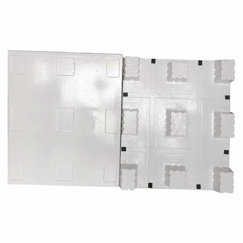 Cheap Plastic Shipping Air Pallets 120*100*13.8 CM