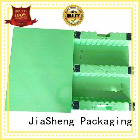 JIASHENG termite proof shipping pallets for electronic toys flat ground